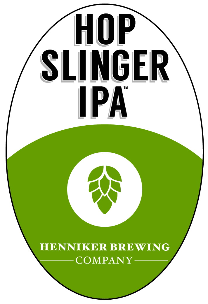 Hop Slinger IPA Tap Handle Sticker