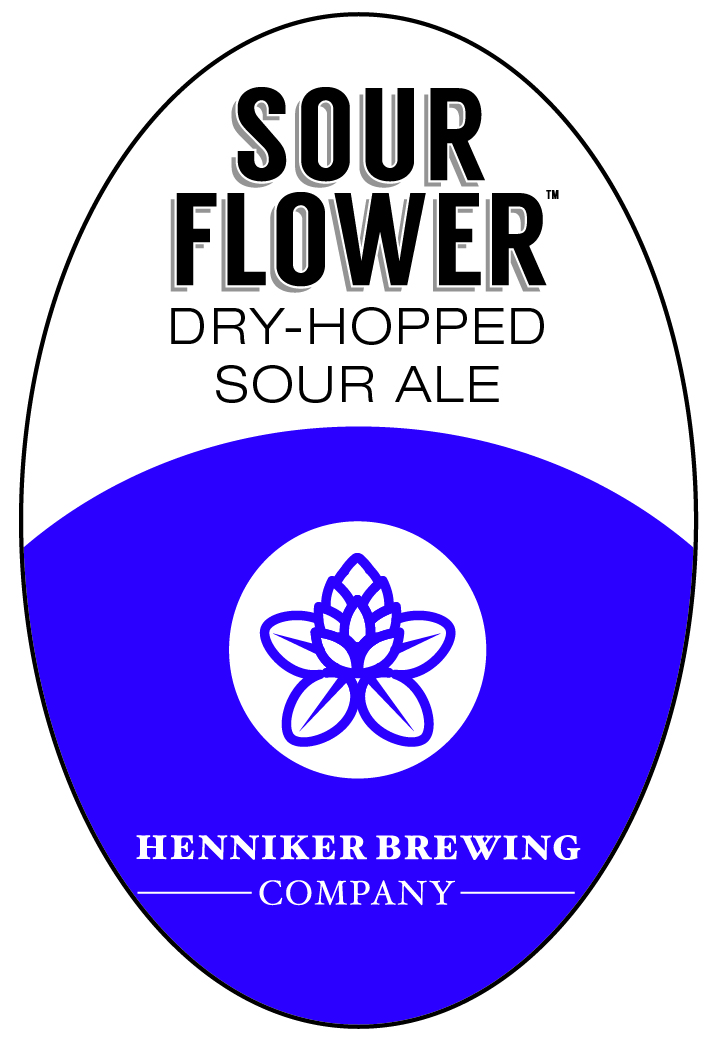 Sour Flower Tap Handle Sticker