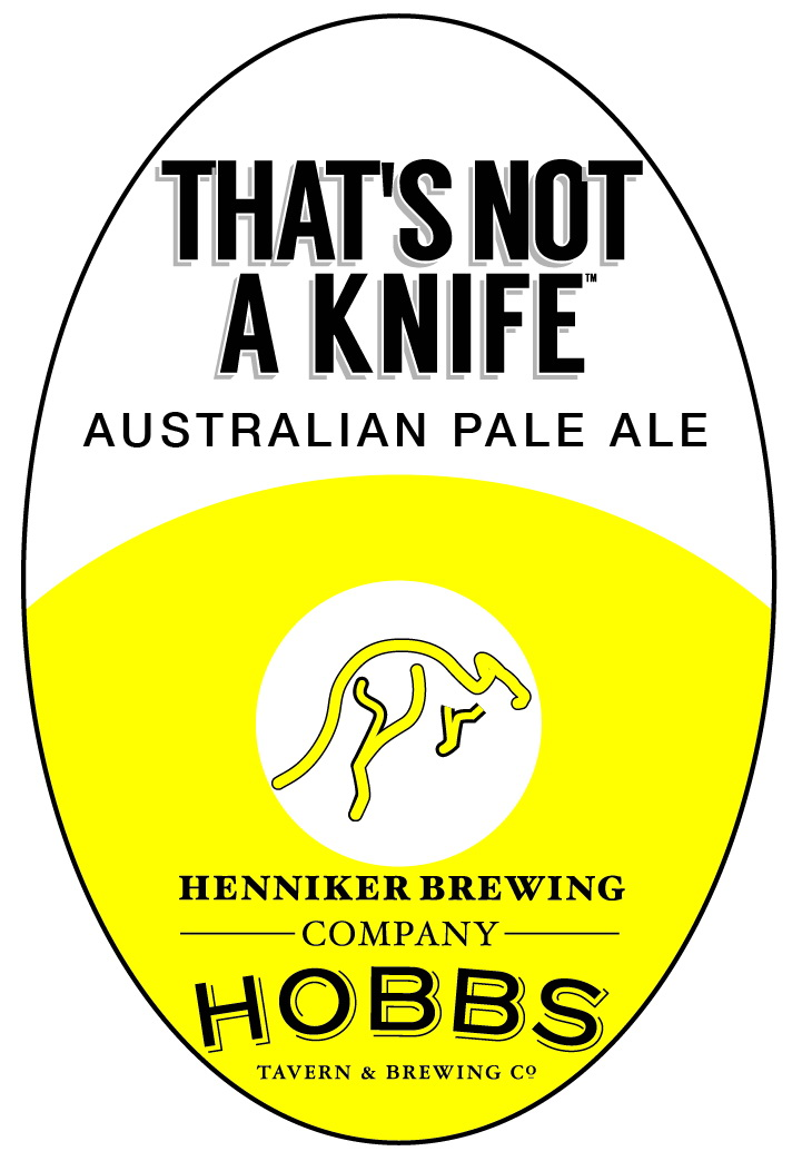 Thats not a knife tap handle sticker