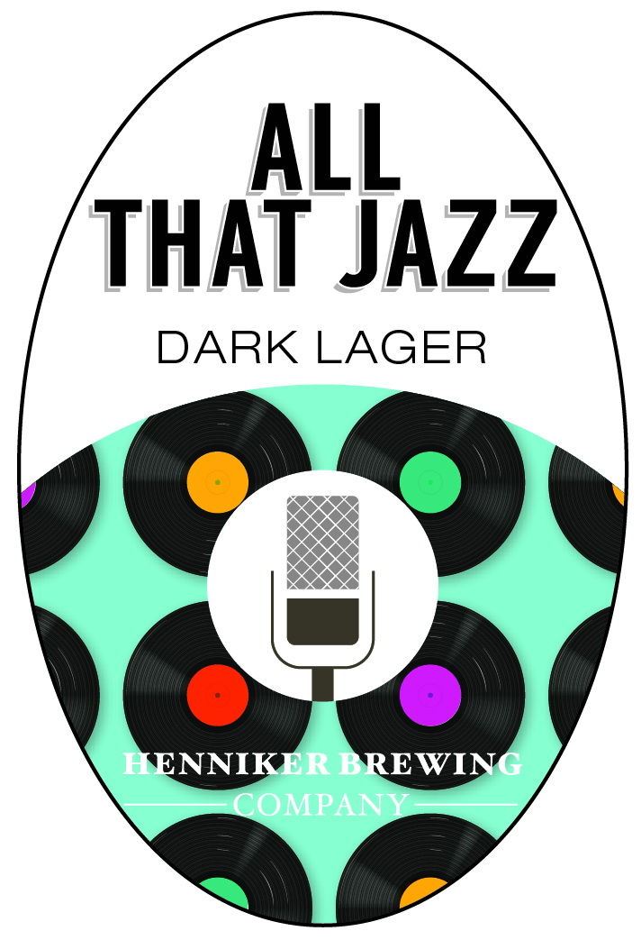 All That Jazz Tap Handle Sticker